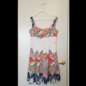 Nine west floral dress size 10